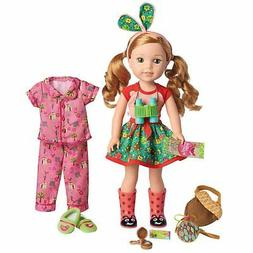 welliewishers willa doll and accessory set