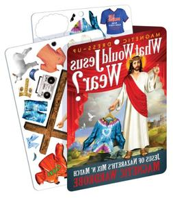 What Would Jesus Wear - Jesus Magnetic Dress Up Doll Play Se