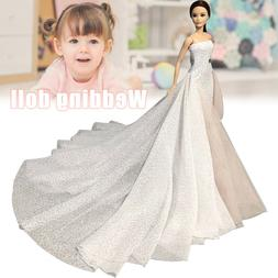 White 11.5 Inches High Fashion Wedding Dress for <font><b>Do