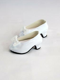 "White High Heels Fits 18"" American Girl Doll Clothes Shoes"