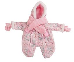 """Gotz Winter Snow Suit with Scarf and Mittens for 16.5"""" Baby"""