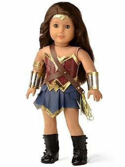 Doll Clothes Wonder Girl Princess Diana Costume for 18 Inch