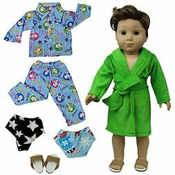 ZITA ELEMENT 2 Sets Pajamas Bathrobe With Underpants And 1 S