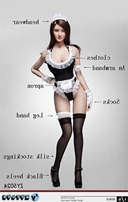 Artcreator_BM ZYTOYS 1/6 Women's Maid Clothes + Shoe Set ZY